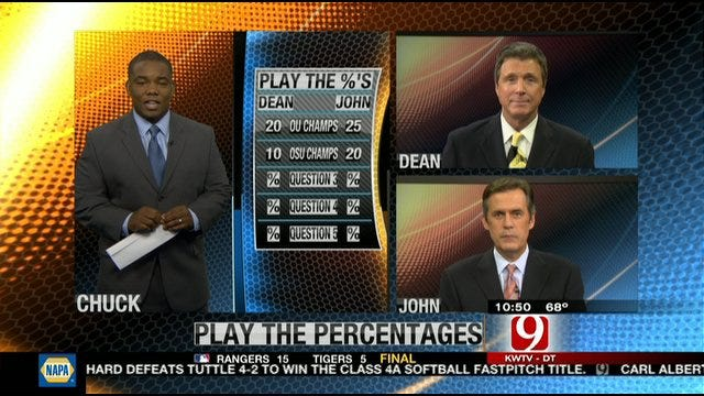 Play the Percentages: Oct. 16, 2011