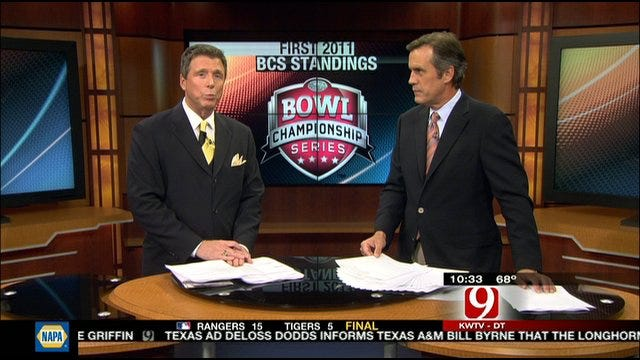 First BCS Rankings Released