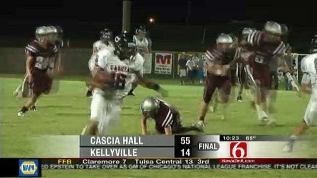Cascia Hall Rolls Along With Another Blowout
