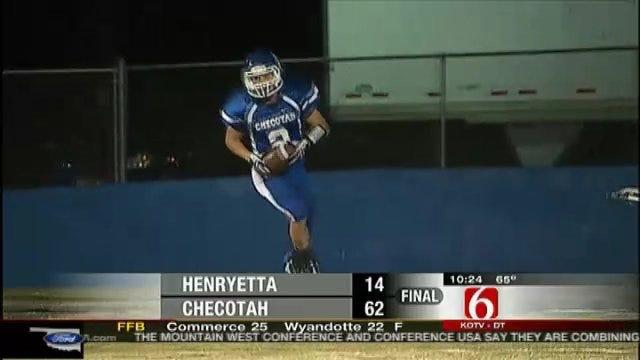 Checotah Crushes Henryetta In Wildcat War