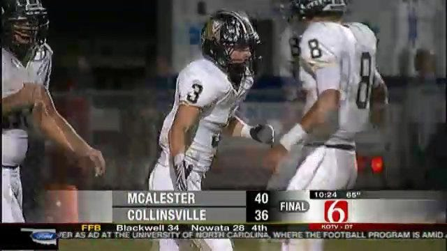 McAlester Squeaks Past Collinsville To Stay Undefeated
