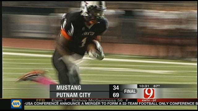 Putnam City Blows Out Mustang, 69-34