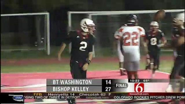 Bishop Kelley Takes Down Booker T. Washington
