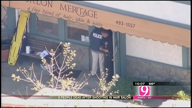 Salon Shooting Leaves Police Asking Questions
