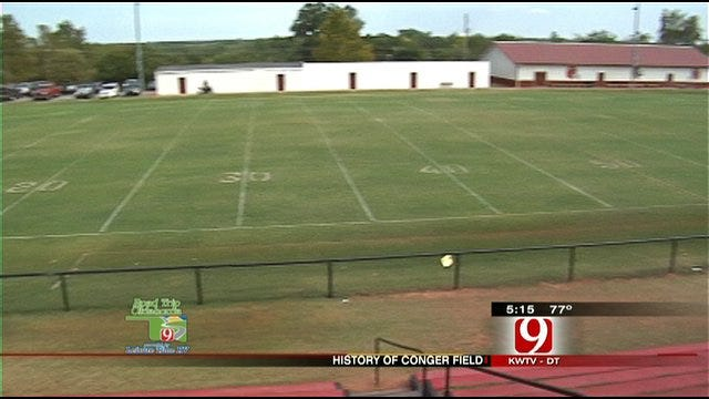 Road Trip Oklahoma Visits Purcell's Conger Field