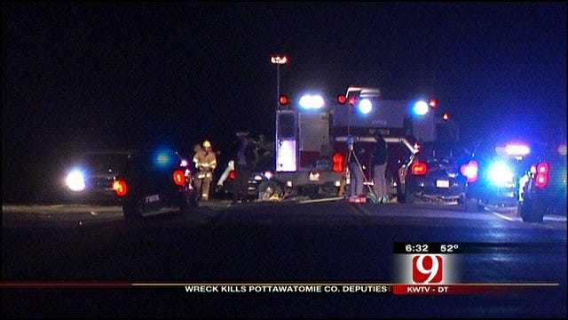 Two Pottawatomie County Deputies Killed In Semi Crash