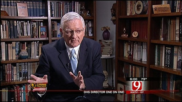 DHS Director Answers Questions During News 9 One-On-One Interview