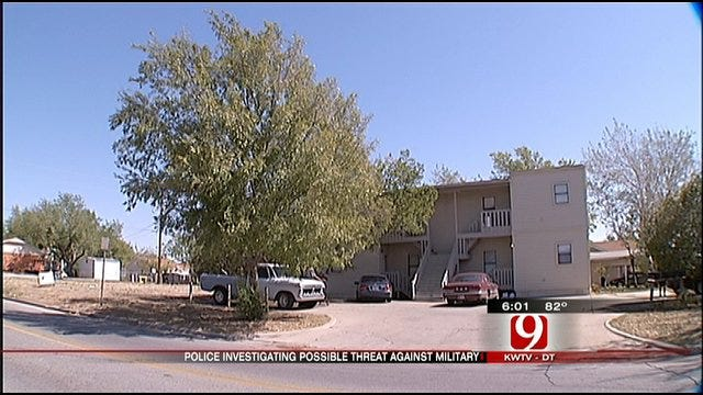 Lawton Police Investigate Possible Threats Made Against Soldiers
