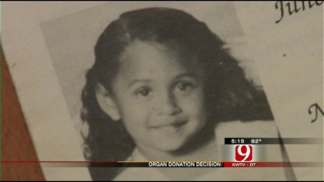OKC Girl's Donated Heart Bridges Generations