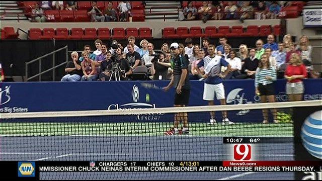 Fish, Roddick In Oklahoma City For Oklahoma Energy Classic