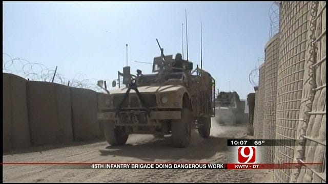 45th Casualties Raise Questions At Home