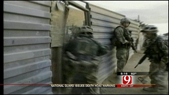 Death Alert Hoax Troubles More Than Service Members