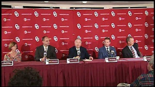 OU Press Conference Part 1