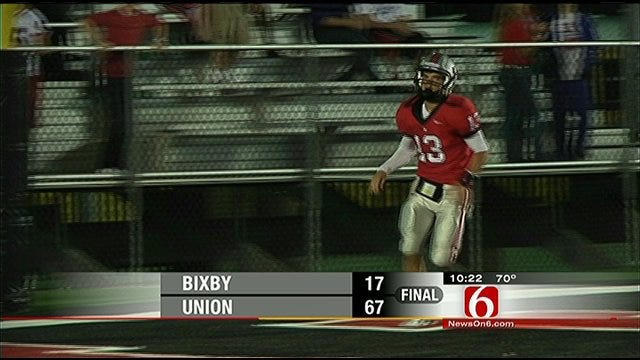 Union Coasts To Another District Win