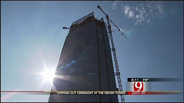 Devon Tower 'Tops Out' In Downtown OKC