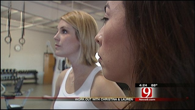 Christina and Lauren's Workout Highlights