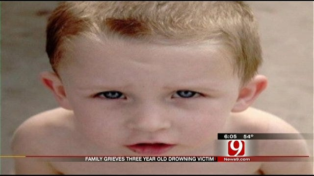 Family Grieves For Three-Year-Old After Drowning