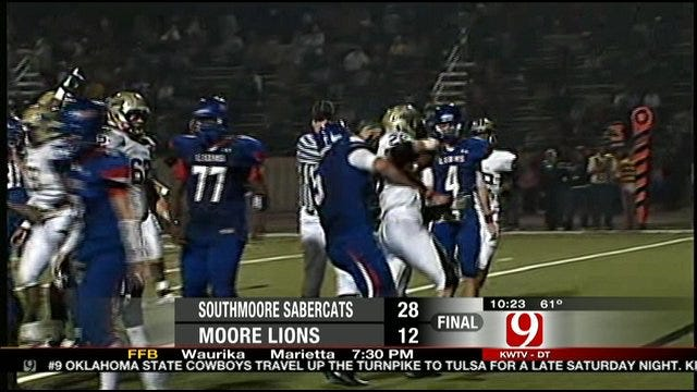 Southmoore Rolls Past Rival Moore In Moore War