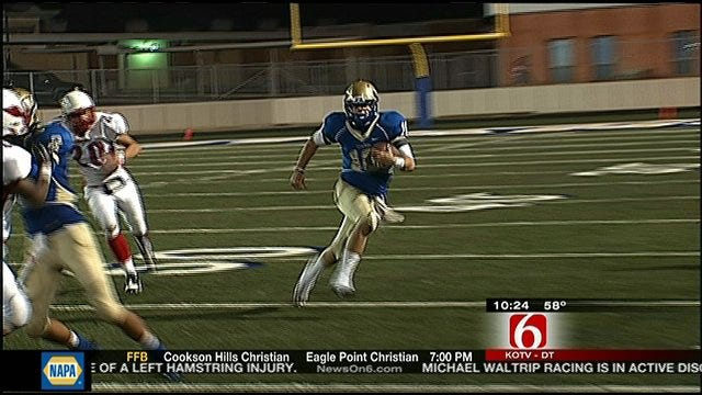 Oologah Edges Collinsville At Home