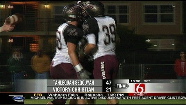Tahlequah-Sequoyah Rolls Past Victory Christian