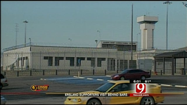 Ersland Receives First Two Visitors As An Inmate