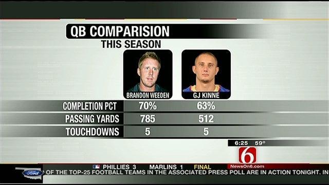 OSU vs. TU Will Come Down To Quarterback Play