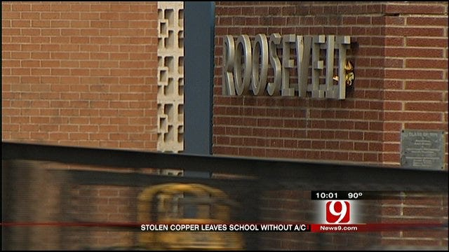 OKC School Left With No A/C After Copper Wire Theft
