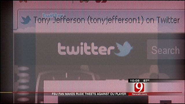 OU Player Receives Offensive Tweets From Florida State Fan