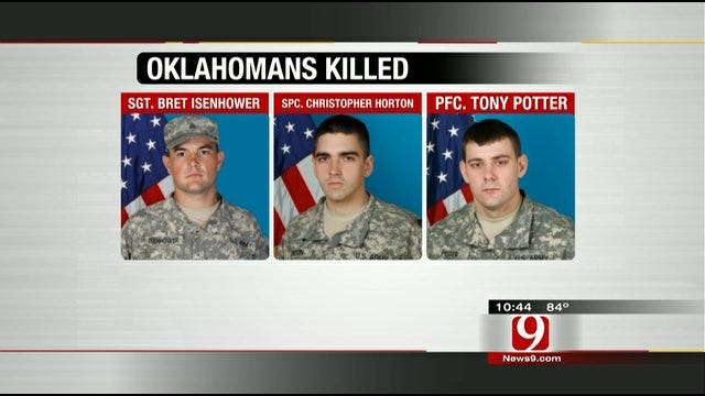 Oklahomans Raise Money To Help Families Of 45th Infantry Brigade