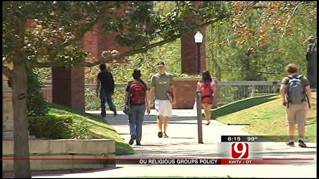 Student Organization In Disagreement With OU's New Anti-Discrimination Policy