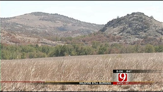 Refuge Fire Cuts Wildlife Habitat Significantly