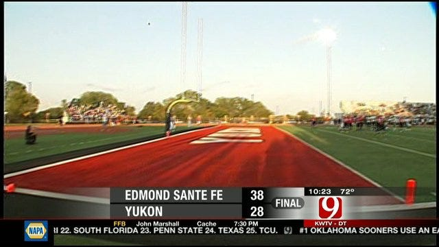Edmond Santa Fe Holds Off Yukon