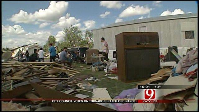 Tornado Death Prompts New Shelter Ordinance In Chickasha Mobile Home Parks