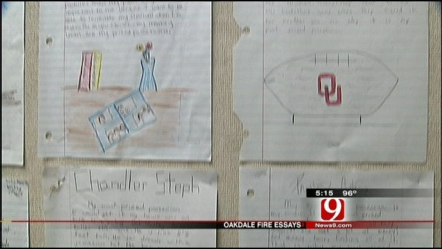 Oakdale School Assignment Helps Students Save Valuables From Fire