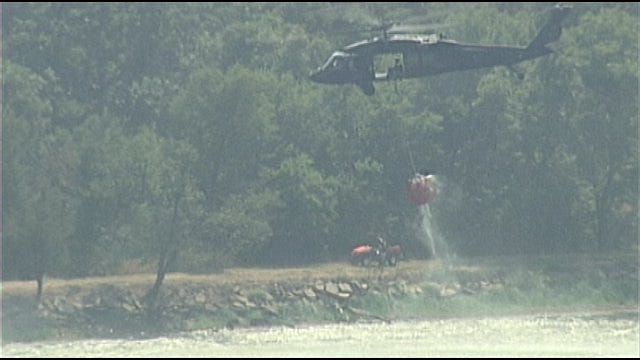 Your 2 Cents: Man Upset With Firefighting Helo