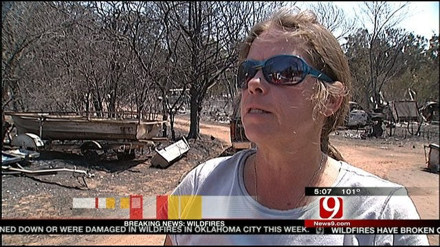 Insurance Commissioner Tours NE OKC Fire Devastation