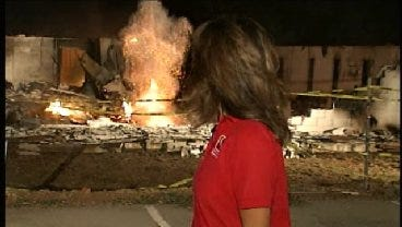 Hot Spots Explode At Northeast OKC Church