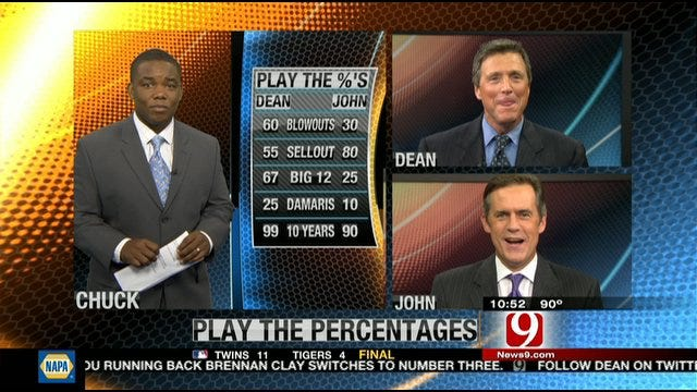 Play the Percentages: August 28, 2011
