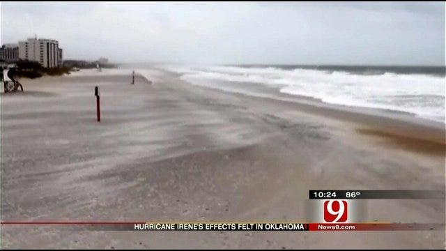 Hurricane Irene Impacts Oklahomans
