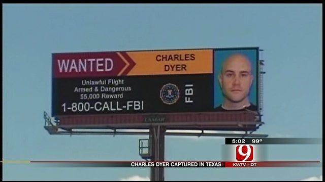 Dyer Arrested Near Houston
