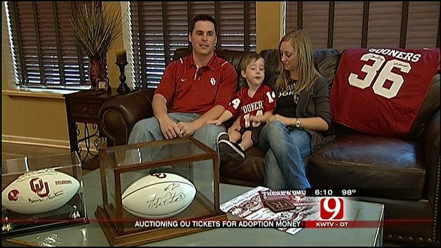 Diehard OU Fans Auction Tickets To Pay For Adoption