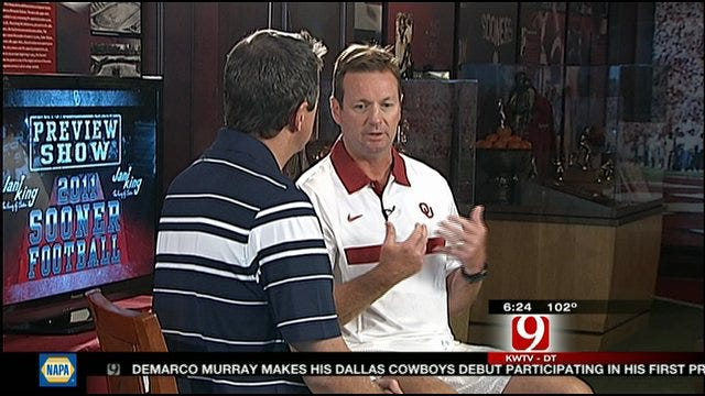 Bob Stoops On Injuries