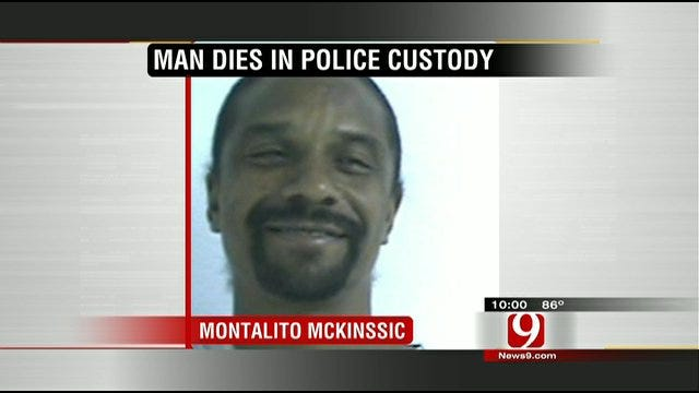 OKC Police In-Custody Death Under Investigation