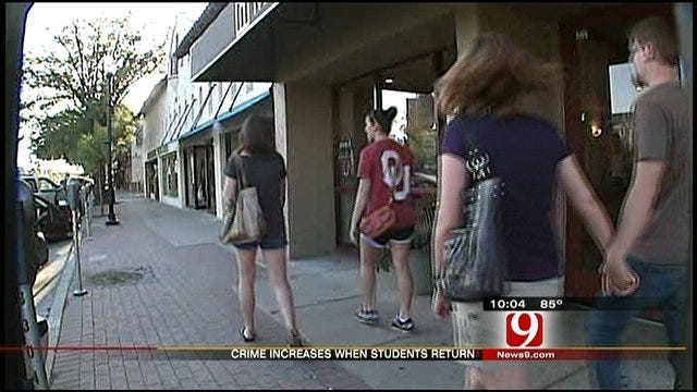 OU Sees Rise In Alcohol-Related Arrests As Freshmen Arrive