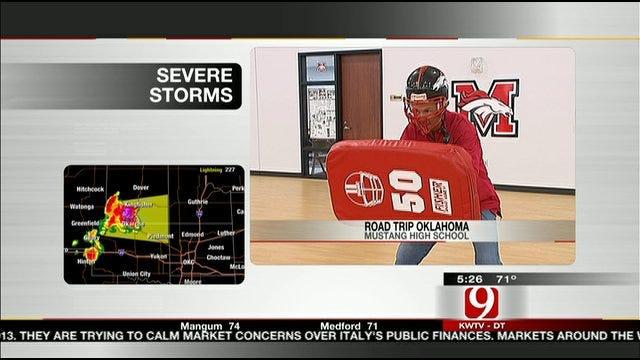 Road Trip Oklahoma: Stan Plays Football In Mustang