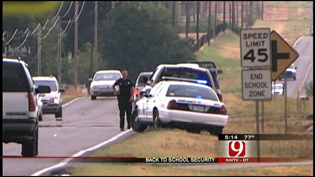 Police Enforce Little Axe School Zones