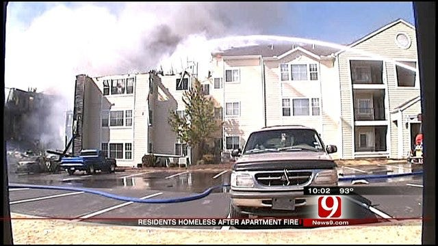 Norman Apartment Complex Fire Leaves Students Homeless