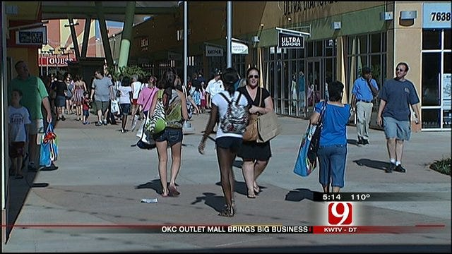 OKC's New Outlet Mall Rakes In The Traffic