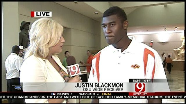 One-on-One Interview With Justin Blackmon