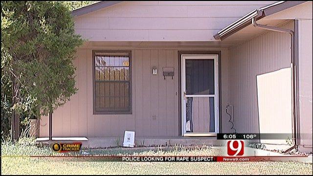 Man Sneaks Into OKC Home, Rapes Woman